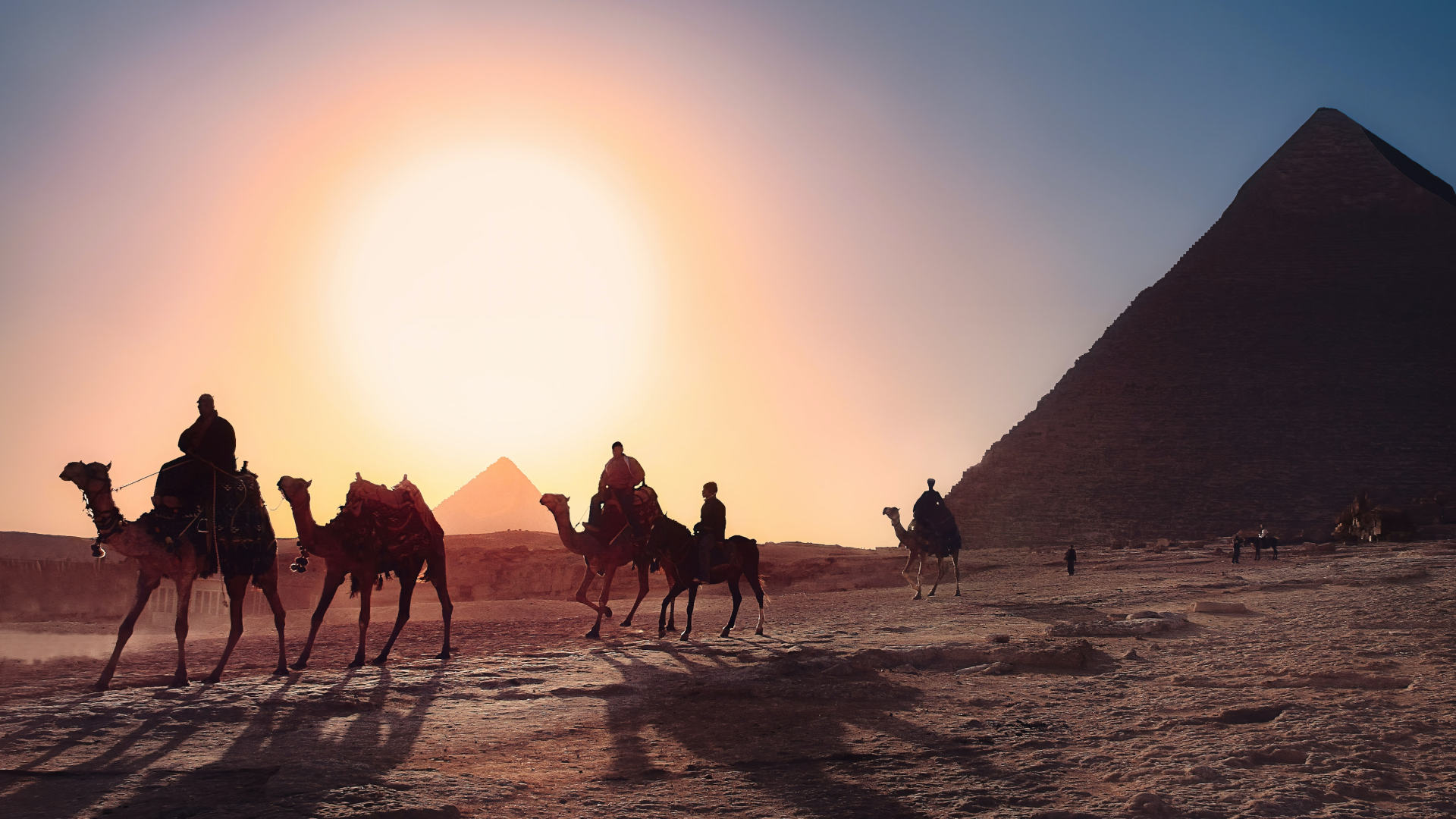 Custom Travel Planner Network-Egypt-Giza Plateau Camel Ride