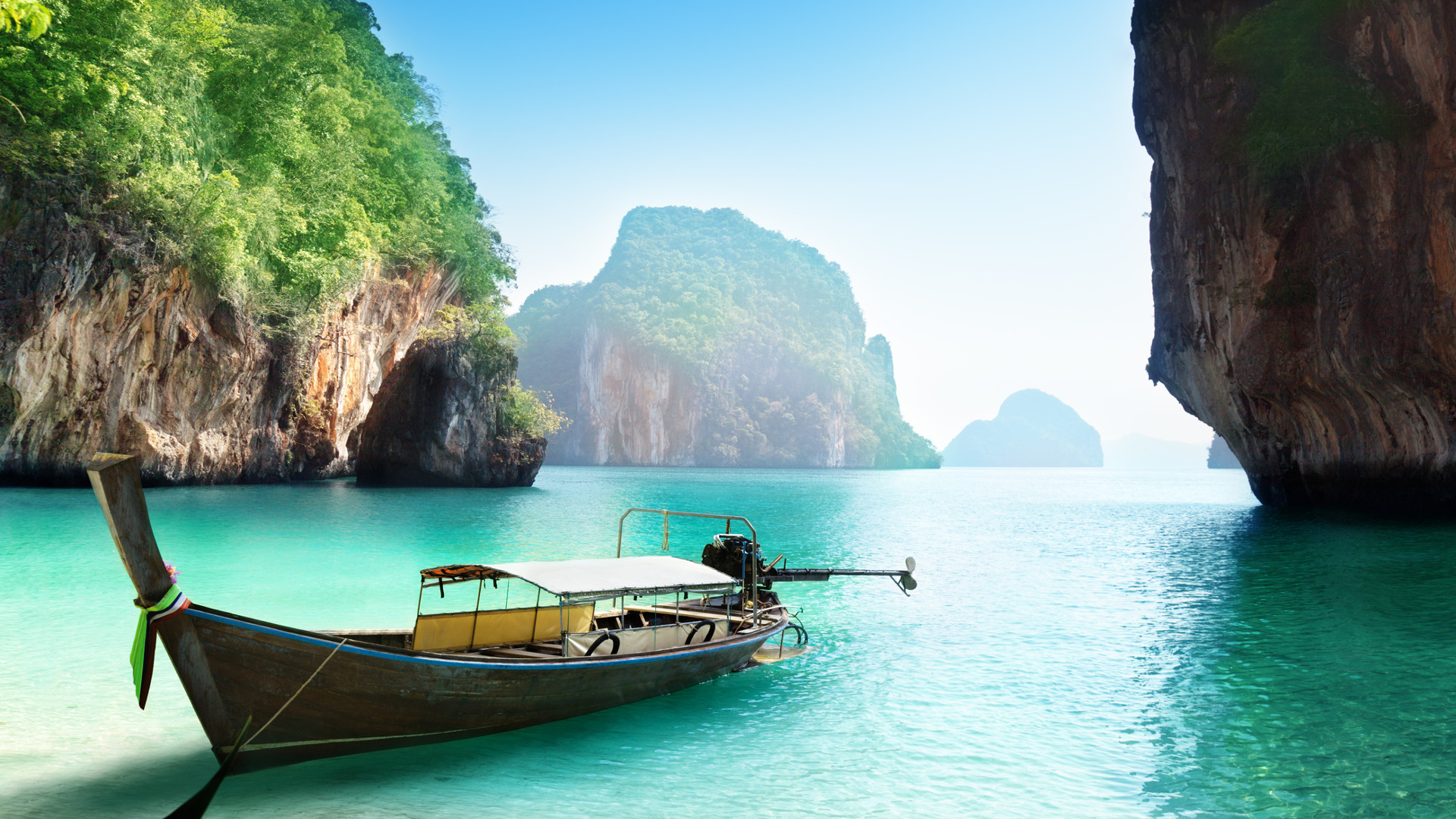 Custom Travel Planner Network-Thailand-Krabi Boat