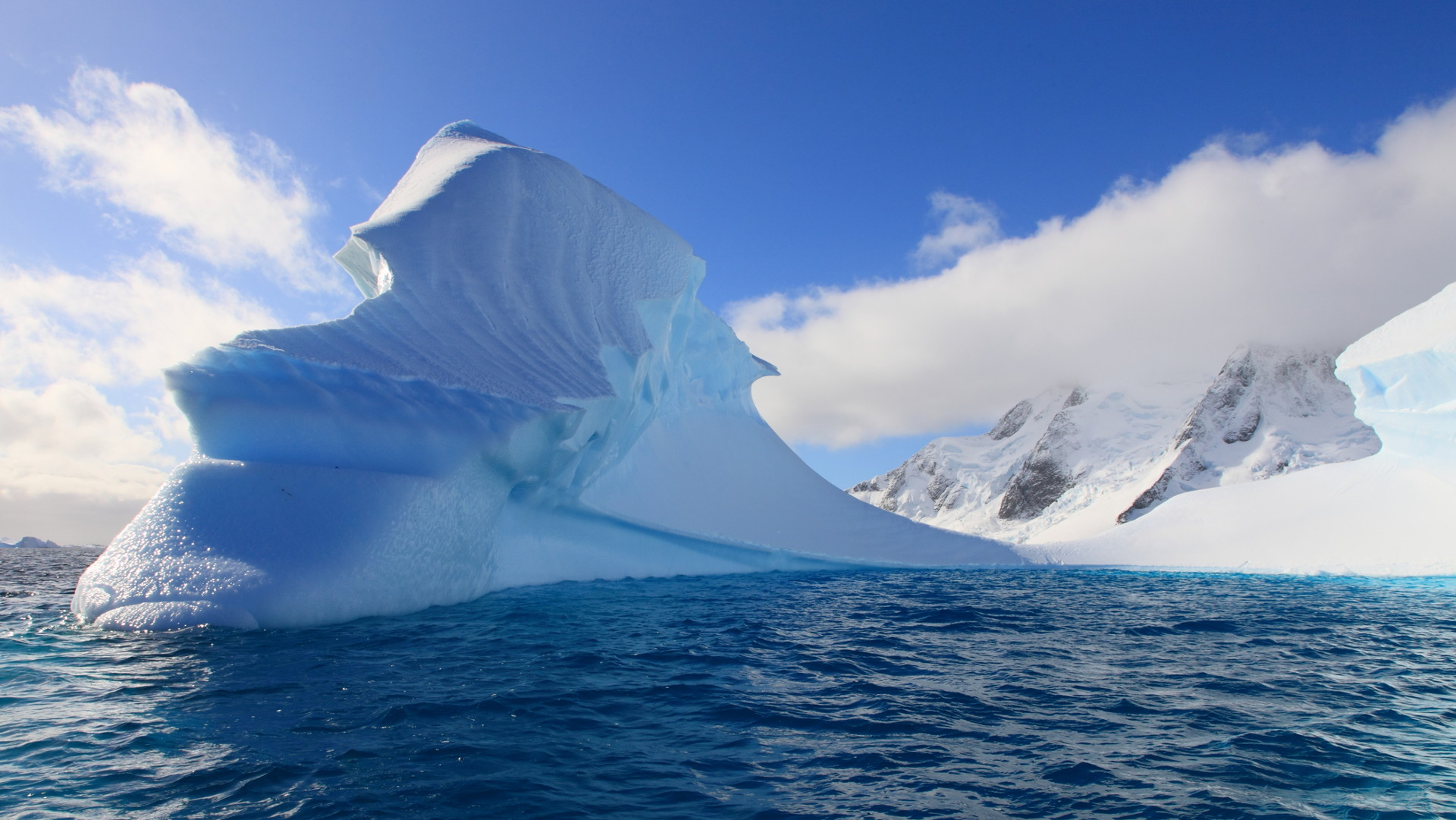 Custom Travel Planner Network-Antarctica-Glacier